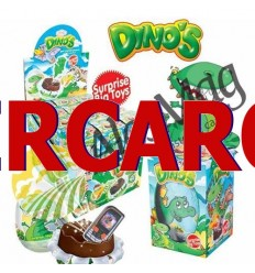 Huevo de Chocolate Dinos