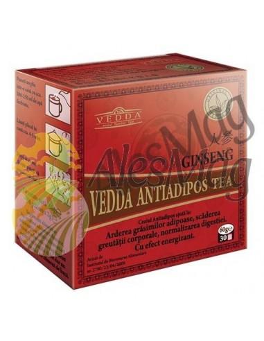 Infusión Antiadiposo con Ginseng 60G