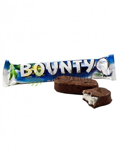 BOUNTY CHOCOLATE-LECHE 57G/24