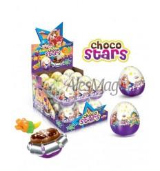 ANL HUEVO CHOCOLATE STARS 25GR/24