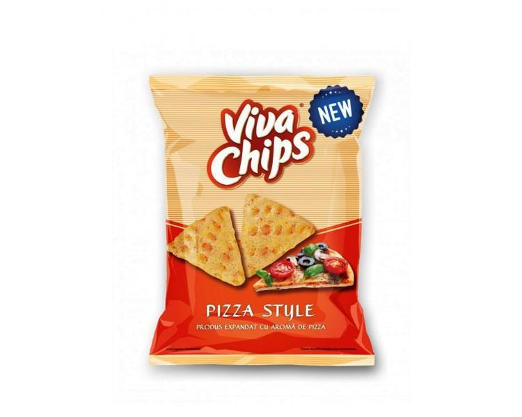 VIVA CHIPS PIZZA 100GR/20