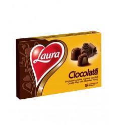 Bomboane Laura cu Crema de Ciocolata