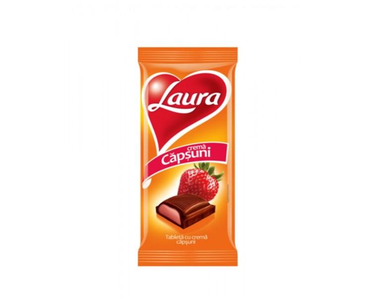 Laura cu Crema de Capsuni