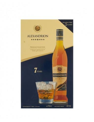 ALEXANDRION 7* 0.7L + 2 COPAS/6
