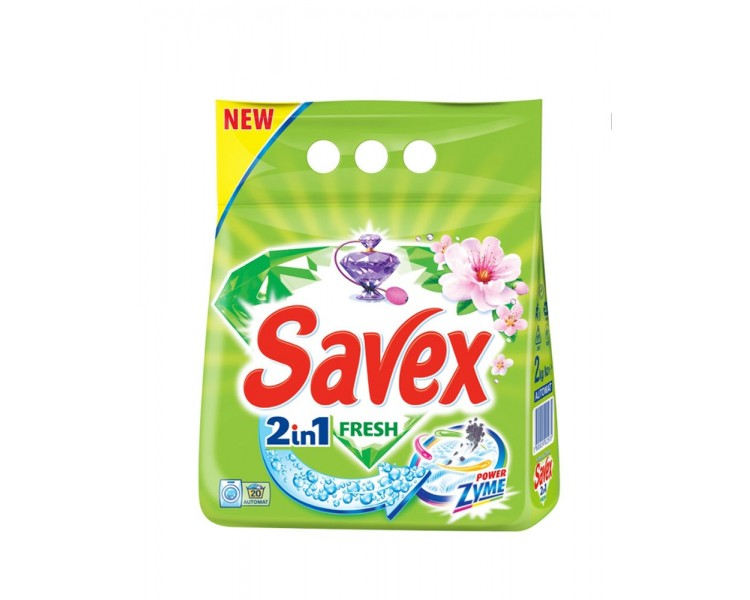 SAVEX 2IN1 FRESH 2KG/8