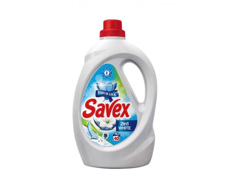 SAVEX LICHIDO 2IN1 WHITE 1.3L/6