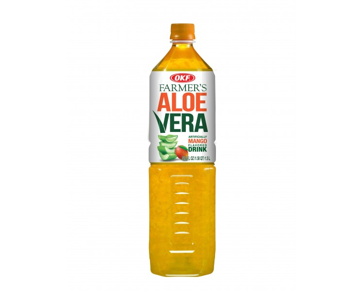 OKF FARMERS ALOE VERA-MANGO 1,5L/12