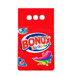 Detergente Bonux 3in1 Color