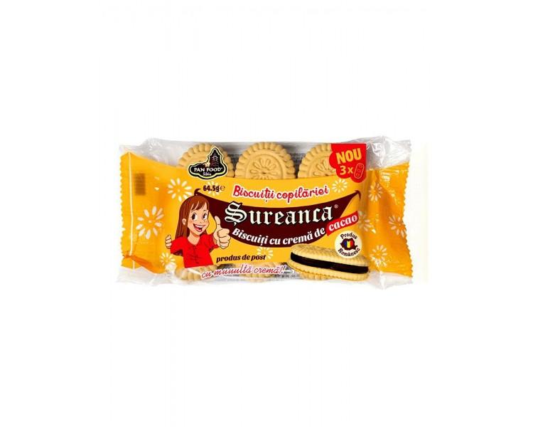 PAN FOOD SUREANCA GALLETAS CACAO 64.5G/24