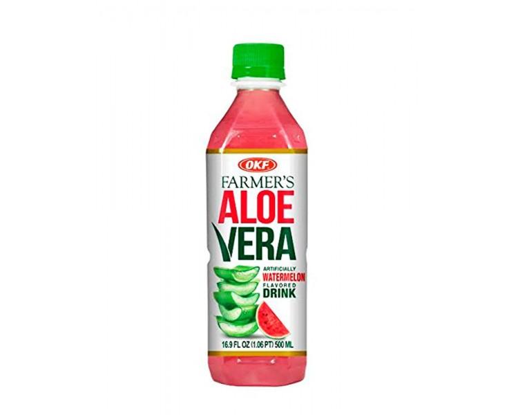 OKF FARMERS ALOE VERA-SANDÍA 0.5L/20