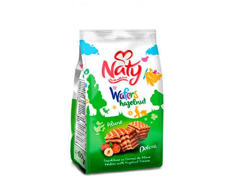 Naty Barquillos Cacahuetes 180G*9