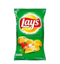 LAYS CHIPS CAMPESINAS 133G/24