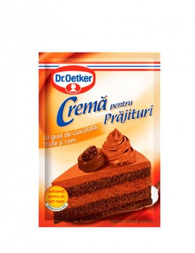 Crema de Ciocolata cu Trufe si Rom pentru Prajituri