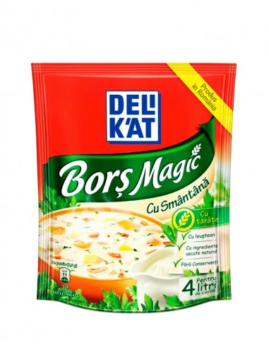 Delikat Bors Magic cu Smantana