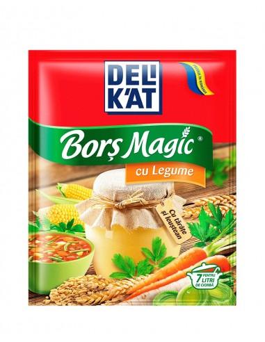 Delikat Bors Magic cu Legume