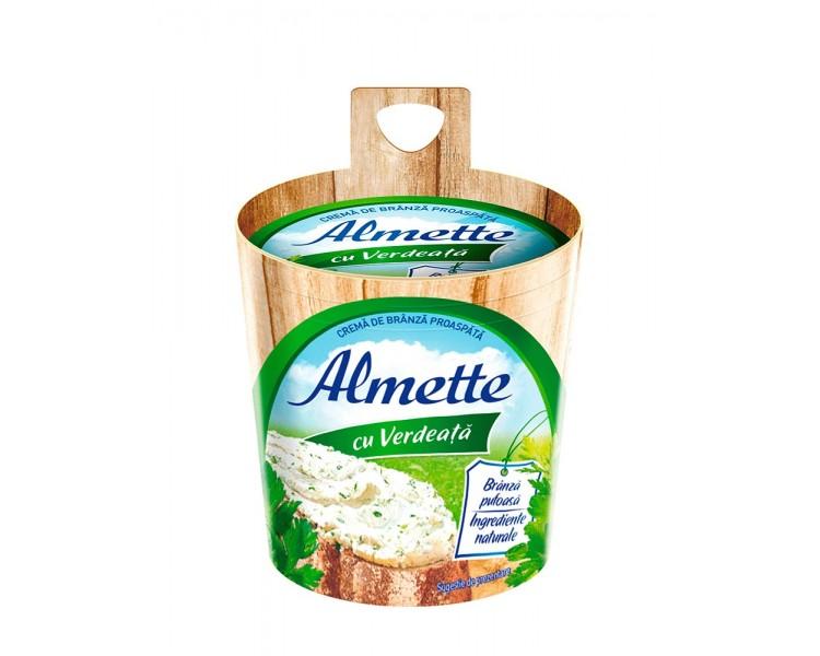 Crema de Queso Alemette con Verduras