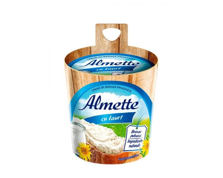 Crema de Queso Alemette con Yogur
