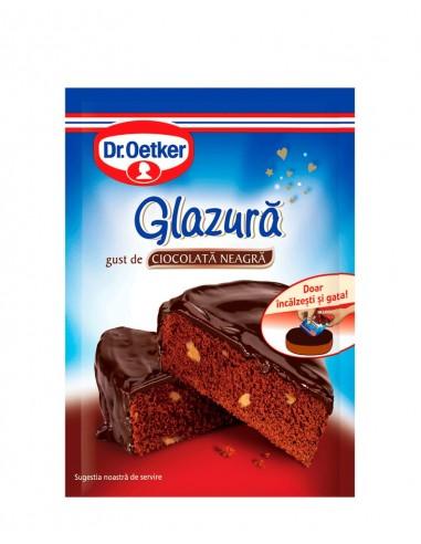 Glazura de Ciocolata Neagra