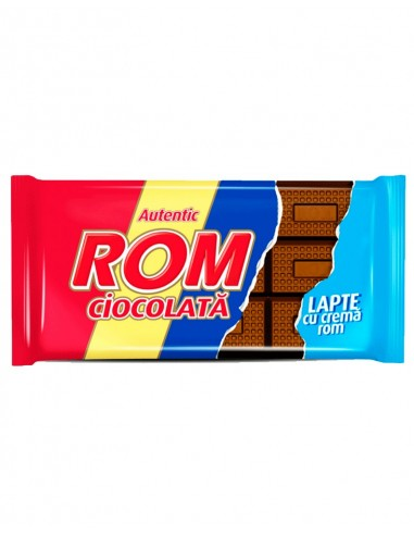 Tableta Ciocolata Lapte Rom 88G