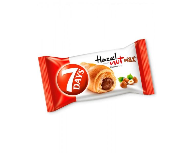 Croissant Avellanas Max 7Days 80G*20