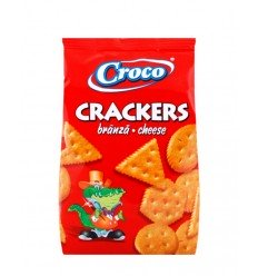 CROCO CRACKERS BRANZA 100G/12