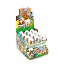 Huevo de Chocolate Animales