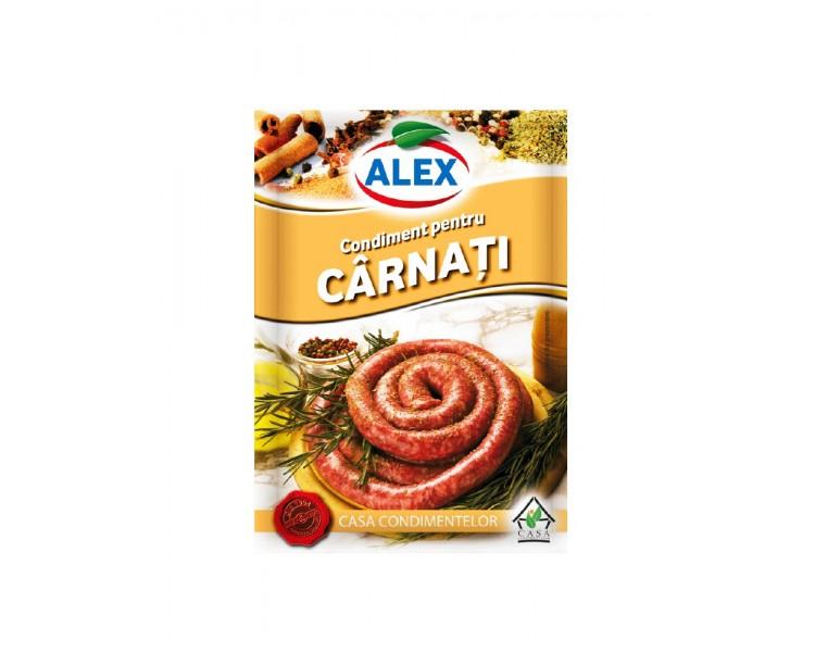 Condiment pentru Carnati