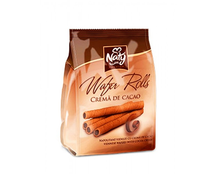 NATY BARQUILLOS ROLLS CACAO 200G/9