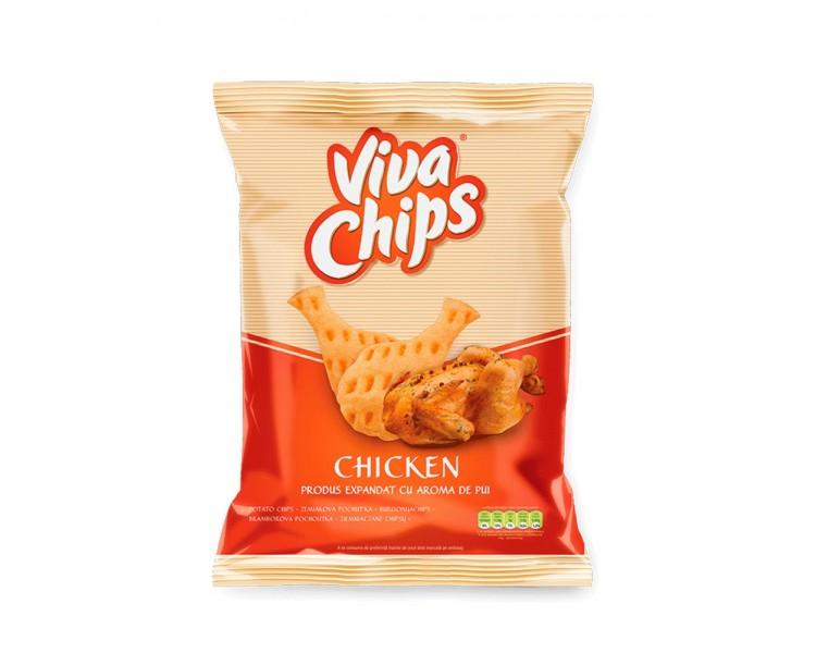 Viva Chips Pollo 100G