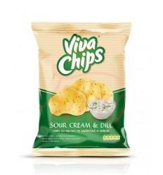 Viva Chips Nata-Eneldo 100G