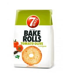 7 Days Bake Rolls Tomates Olivas 70G*12