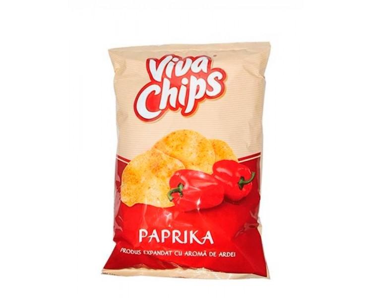 Viva Chips Ardei 100G