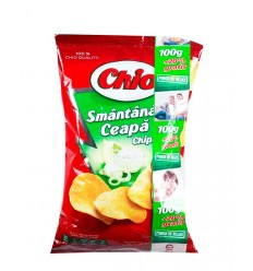 CHIO CHIPS SMANTANA-CEAPA 100G/18