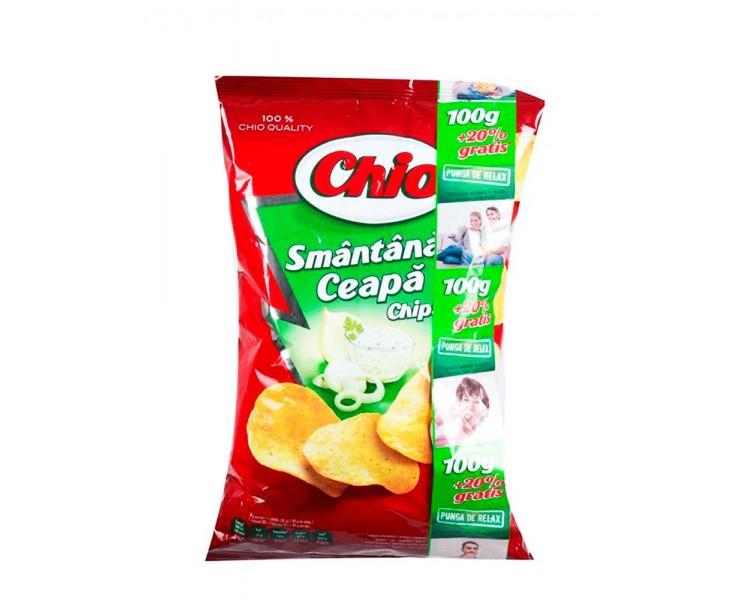 CHIO CHIPS SMANTANA-CEAPA 100G/18