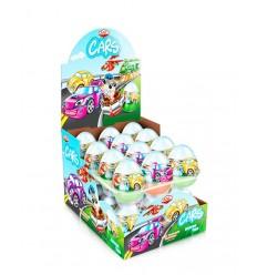 Huevo de Chocolate con Sorpresa Cars 25G*24
