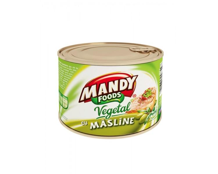 Pate Vegetal cu Masline 200G