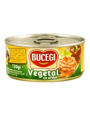 Pate Vegetal cu Ardei Bucegi 100g