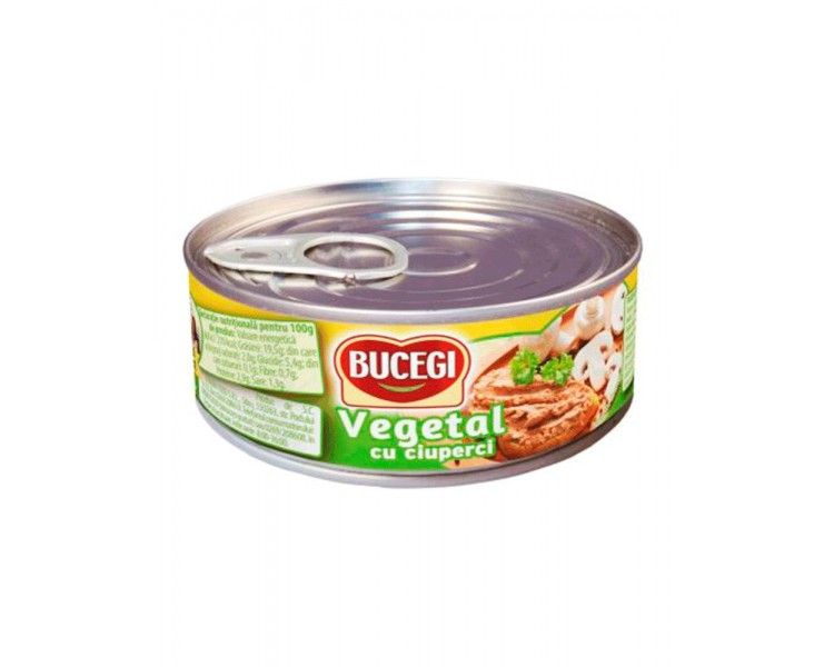 Paté Vegetal con Setas Bucegi 100g