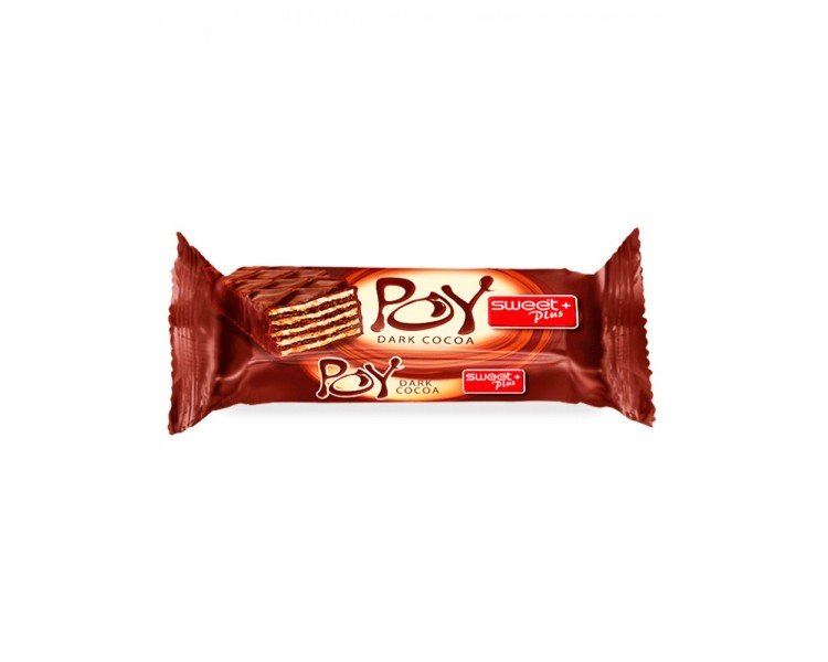 BUL SWEET POY BISCUITI CACAO 45G/12