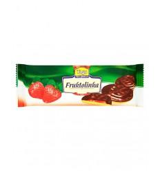 TAGO GALLETAS CHOCOLATE FRESA 130G/24