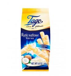 TAGO NAPOLITANE ROLLS COCOS 150G/14