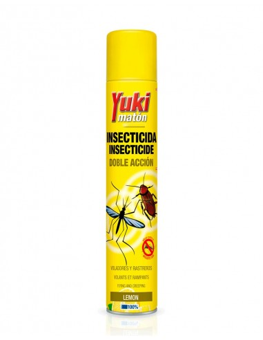 YUKI INSECTICIDA DOBLE ACCIÓN 750ML/8