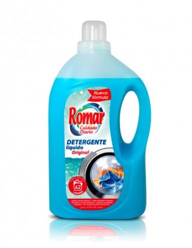 ROMAR DETERGENTE LÍQUIDO NATURAL 3L/4