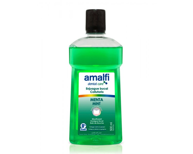 AMALFI ENJUAGUE BUCAL MENTA 500ML/16