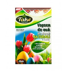 TAKE PINTURA HUEVOS COLORANTES NATURALES 5ML*4
