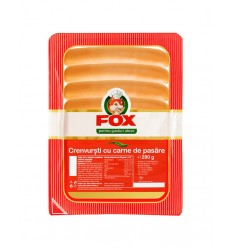 FOX SALCHICHAS POLLO 280G
