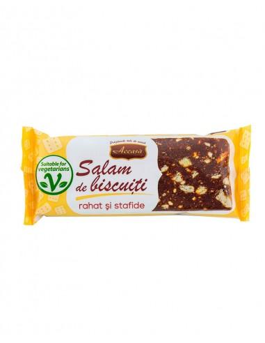 Accasa Salam de Biscuiti cu Rahat si Stafide