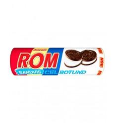 Biscuiti Sandvis Rotund Rom-Vanilie 140G*30