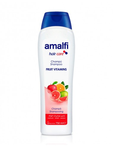 AMALFI CHAMPU FAMILIAR VITAMINAS FRUTA 750ML/16