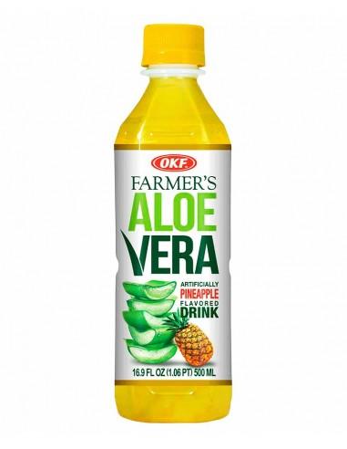 OKF FARMERS ALOE VERA-PIÑA 0.5L/20